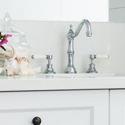 Hamptons Style Bathroom Small Header - Brisbane Bathroom Renovators