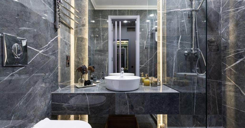 Small bathroom renovation in brisbane